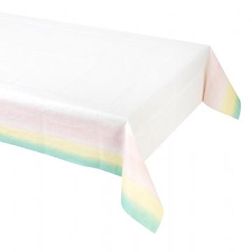 We Heart Pastels Party Table Cover